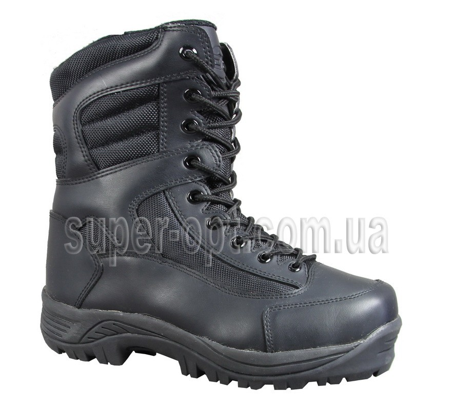 Черные термо-ботинки B&G для мальчика RAY165-219