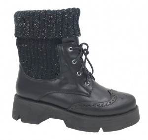 Стильные ботинки B&G для девочки KK170-306