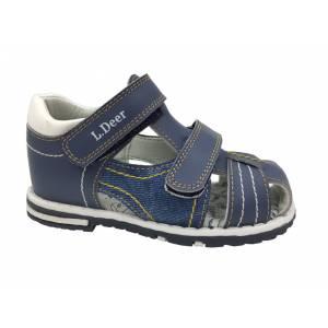Синие босоножки B&G для мальчика LD180-600