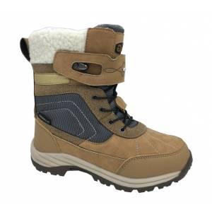 Бежевые термо ботинки B&G для девочки R181-612