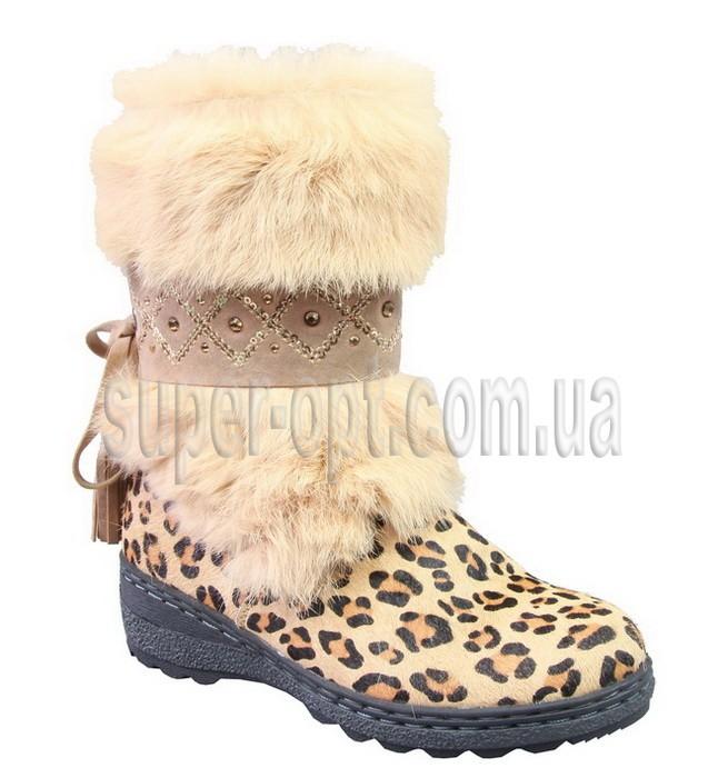 Бежеві чоботи для дівчинки B&G KM13-21