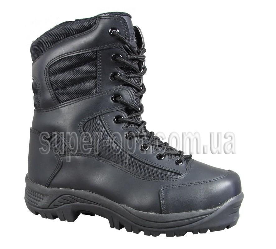 Чорні термо-черевики B&G для хлопчика RAY165-219