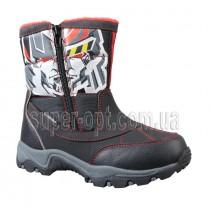 Чорні термо-черевики B&G для хлопчика R161-3201