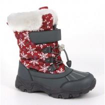 Сірі термо-чоботи B&G для дівчинки R171-6025