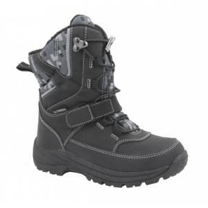 Чорні термо черевики B&G для хлопчика R181-613